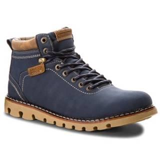 Šnurovacia obuv  MP07-16777-01 koža ekologická