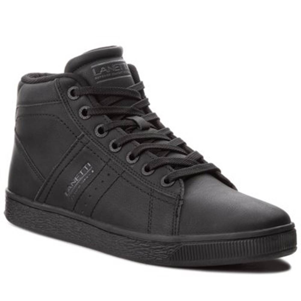 Lanetti Šnurovacia obuv  MP07-17103-02 koža ekologická
