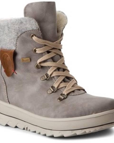 Sivé topánky Rieker