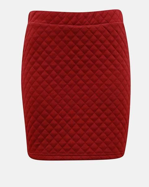 Vínová sukňa Vero Moda