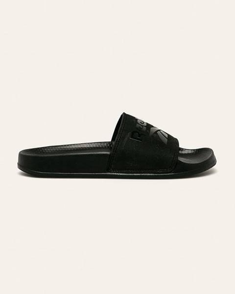 Čierne sandále Reebok
