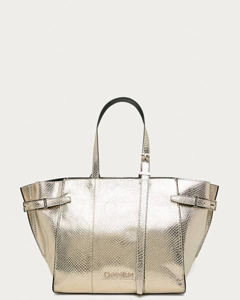 Zlatá kabelka Calvin Klein