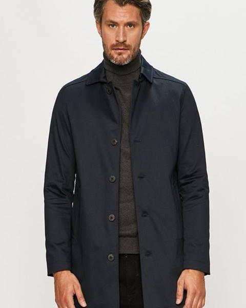 Tmavomodrý kabát Selected