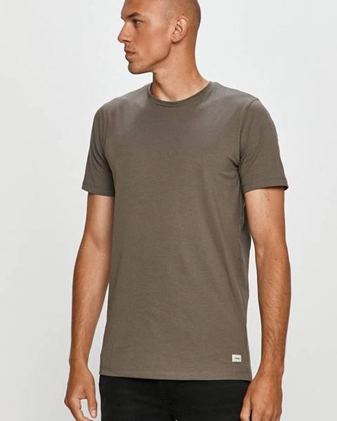 Sivé tričko PRODUKT by Jack & Jones