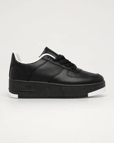 Čierne topánky Answear Lab