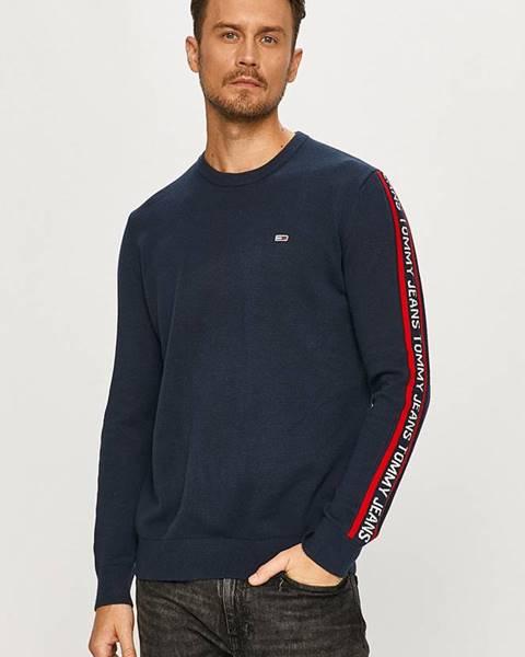 Tmavomodrý sveter Tommy Jeans