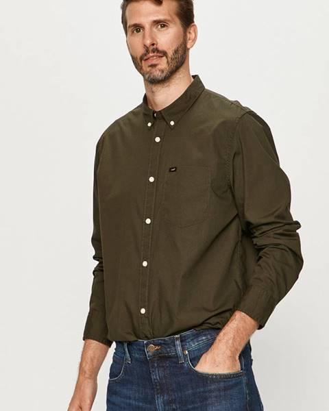 Zelená košeľa Lee