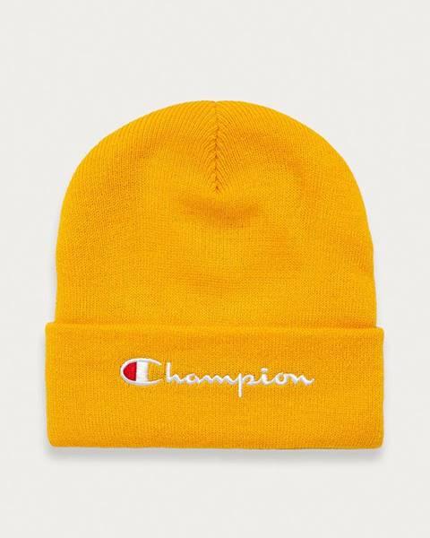Žltá čiapka Champion