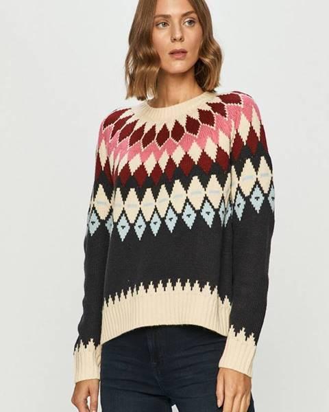 Viacfarebný sveter Only