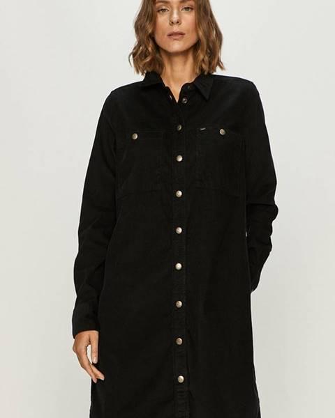 Čierne šaty Lee