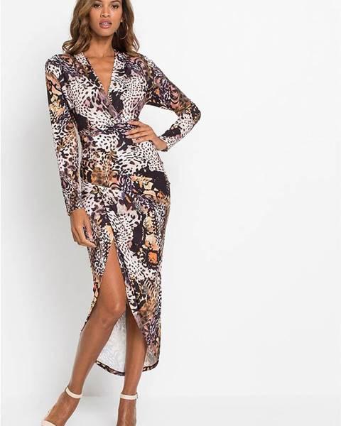 Hnedé šaty bonprix