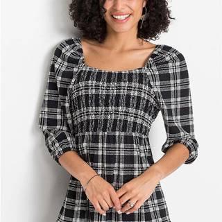 Tričko, vzorované, štvorcový výstrih