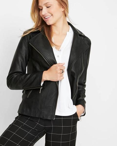 Čierna bunda bonprix