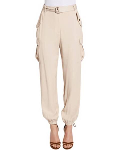 Béžové nohavice Gaudi