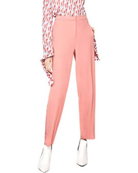 Ružové chino nohavice Pepe jeans
