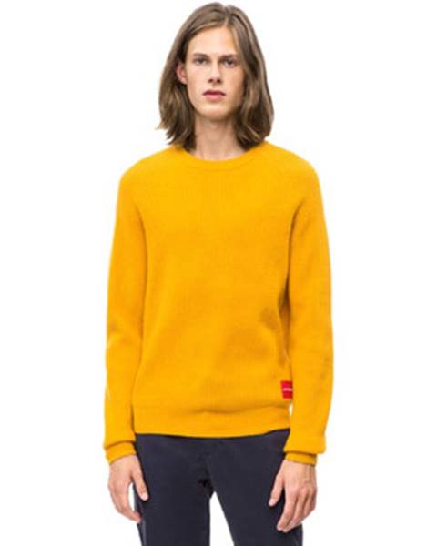 Žltý sveter Calvin Klein Jeans