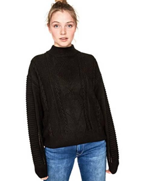 Čierny sveter Pepe jeans