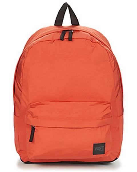 Oranžový batoh Vans