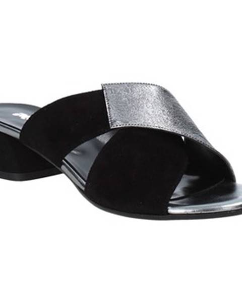 Čierne sandále Melluso