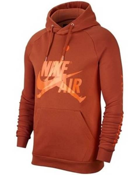 Hnedá mikina Nike