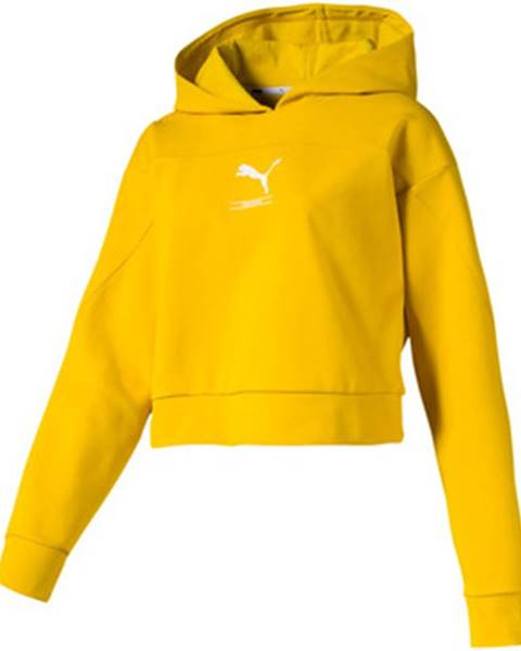 Žltá mikina Puma