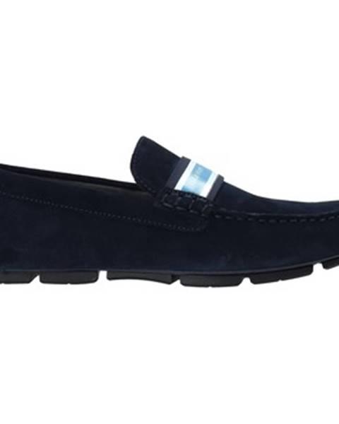 Modré mokasíny Calvin Klein Jeans