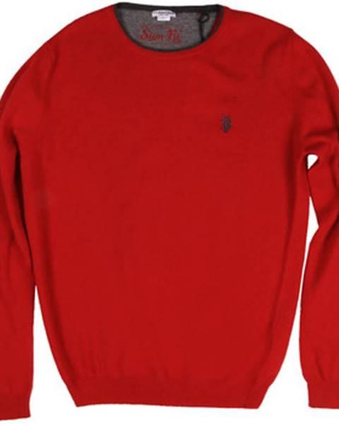 Červený sveter U.S Polo Assn.