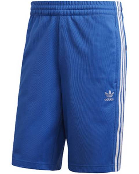 Modré kraťasy adidas