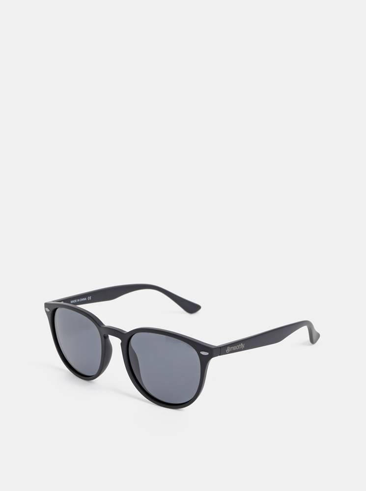 Meatfly Čierne slnečné okuliare Meatfly Beat