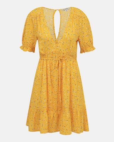 Žlté šaty Miss Selfridge