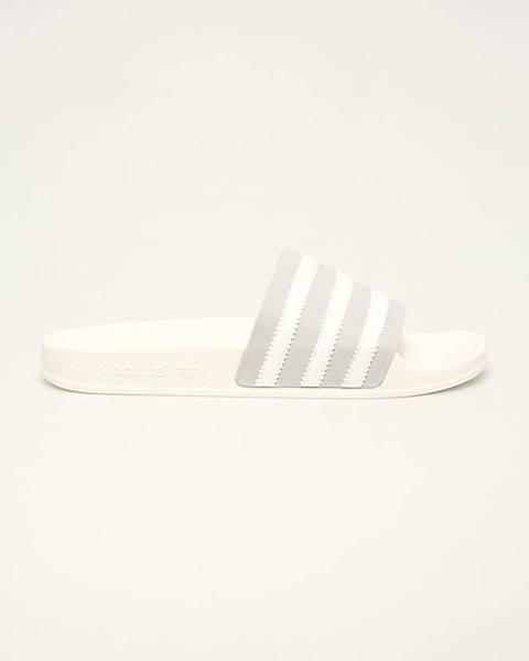 Sivé sandále adidas Originals