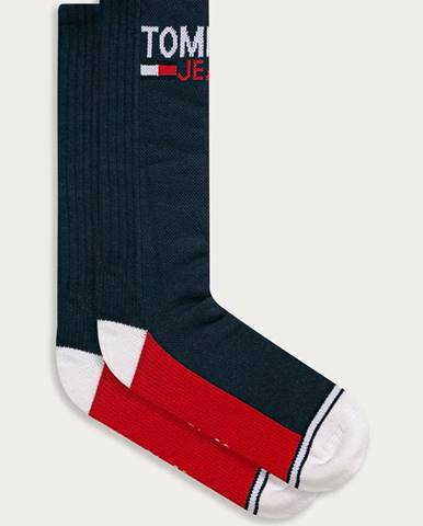 Tmavomodré ponožky Tommy Jeans
