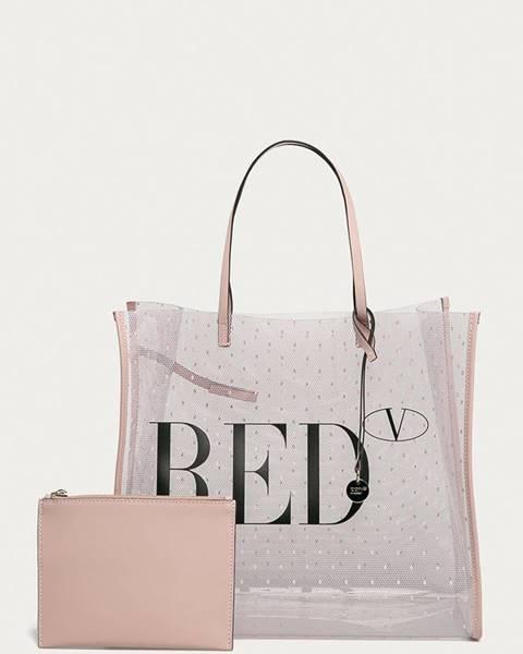 Ružová kabelka Red Valentino
