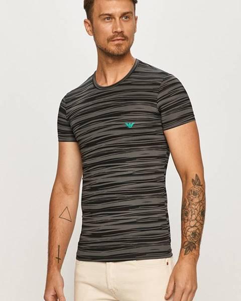 Viacfarebné tričko Emporio Armani