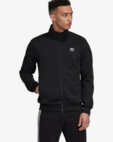 Čierna bunda bez kapucne adidas Originals
