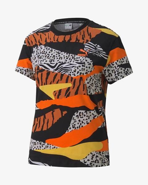 Farebné tričko Puma