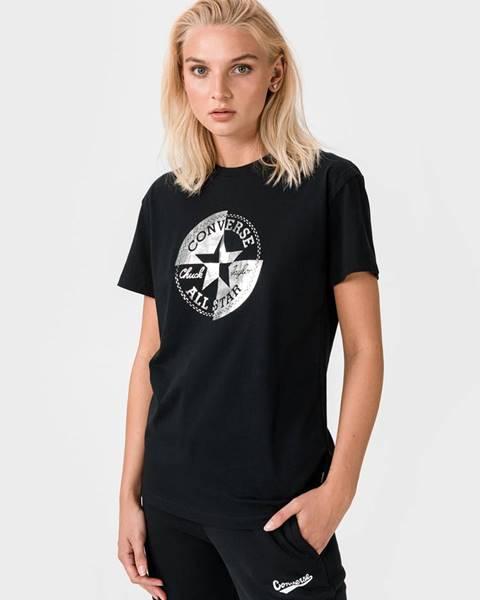 Čierne tričko Converse