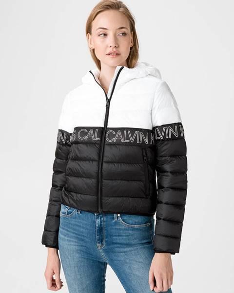 Čierna bunda Calvin Klein