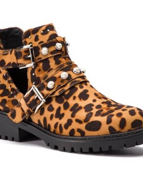 Hnedé topánky DeeZee