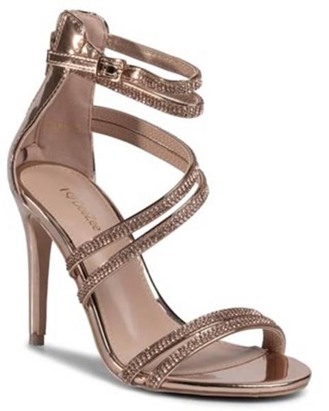 Zlaté sandále DeeZee