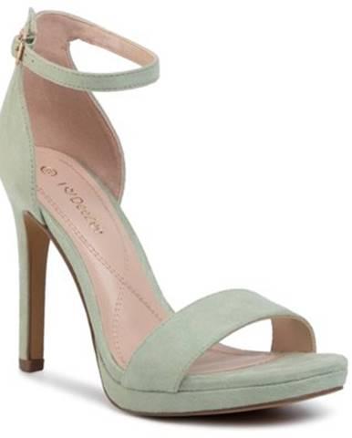 Zelené sandále DeeZee
