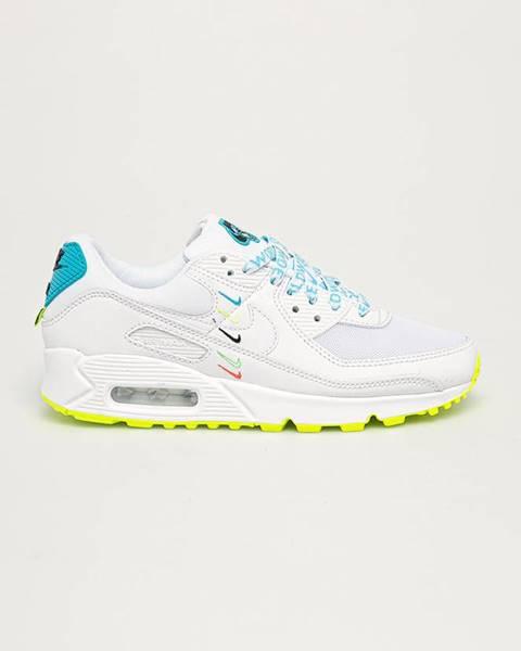 Biele topánky Nike Sportswear