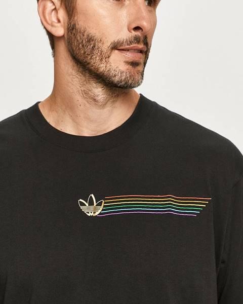 Čierne tričko adidas Originals