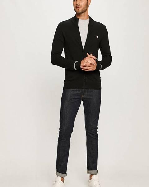 Čierna bunda Guess Jeans