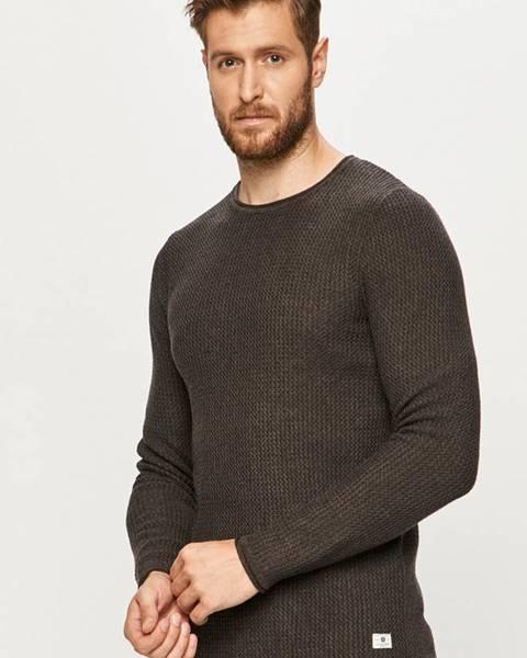 Sivý sveter Premium by Jack&Jones