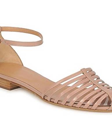 Béžové sandále Sonia Rykiel