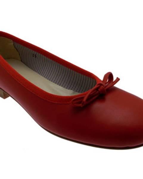 Červené balerínky Calzaturificio R.p