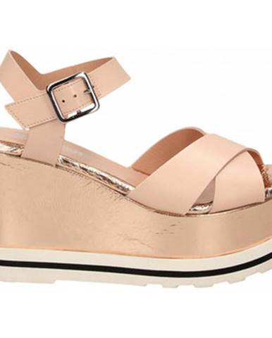Béžové sandále Studio Pollini