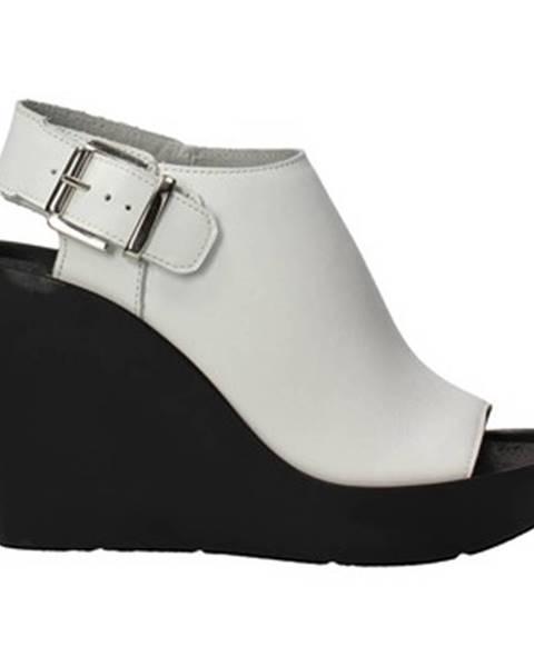 Biele sandále Bronx