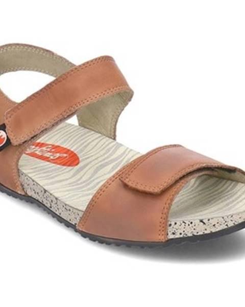 Hnedé sandále Softinos